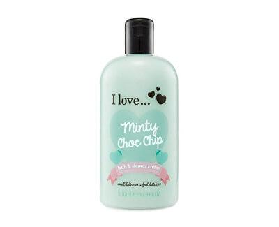 Koupelový a sprchový krém s vůní máty (Minty Choc Chip Bath & Shower Cream) 500 ml