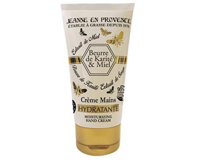 Jeanne En Provence Extra výživný a hojivý krém na ruce Bambucké máslo a med (Healing Hand Cream) 75 ml