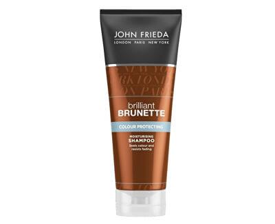 John Frieda Șampon Hidratant pentru păr colorat Brilliant Brunette Protejarea Color ( Moisturising Shampoo) 250 ml