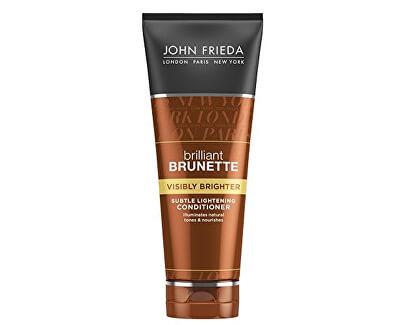 Kondicionér pro lesk hnědých vlasů Brilliant Brunette Visibly Brighter (Subtle Lightening Conditiooner) 250 ml