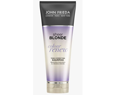 John Frieda Tónovací šampon pro blond vlasy Sheer Blonde Colour Renew (Tone-Correcting Shampoo) 250 ml