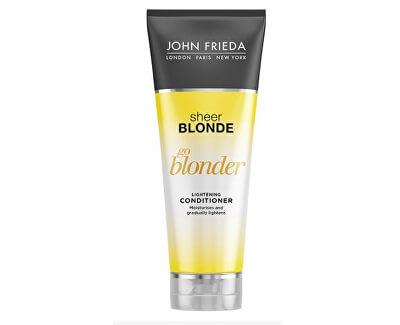 John Frieda Zesvětlující kondicionér pro blond vlasy Sheer Blonde Go Blonder (Lightening Conditioner) 250 ml
