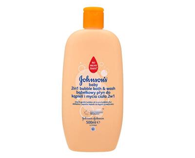 JOHNSON`S Baby Bublinková koupel a mycí gel 2 v 1 Baby 500 ml