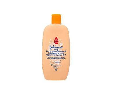Bublinková koupel a mycí gel 2 v 1 Baby 500 ml
