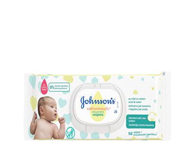 Extra jemné vlhčené ubrousky pro děti Cottontouch (Extra Sensitive Wipes) 56 ks