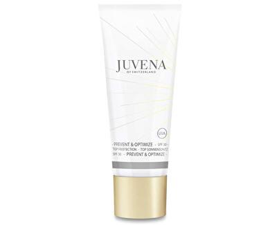 Juvena Hedvábně jemný fluid proti předčasnému stárnutí pleti SPF 30 (Prevent & Optimize Top Protection) 40 ml