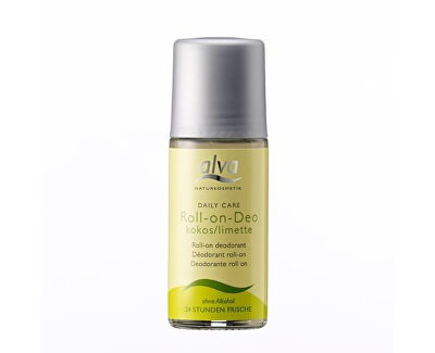 Alva Krystal Deo kulička kokos-limetka Daily Care (Roll On Deo Kokos/Limette) 50 ml