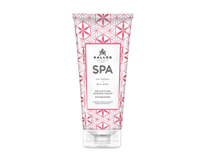 Krémový sprchový gel s extraktem z růže z Damašku (SPA Beutifulying Shower Cream Gel With Rose Extract)