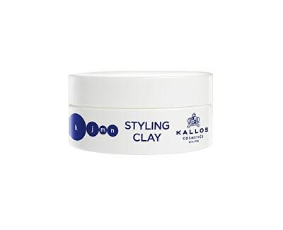 Stylingový jíl na vlasy KJMN (Styling Clay) 100 ml