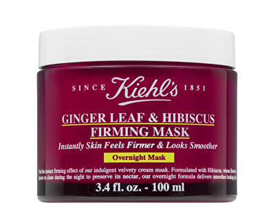 Zpevňující pleťová maska na noc (Ginger Leaf & Hibiscus Firming Mask) 100 ml