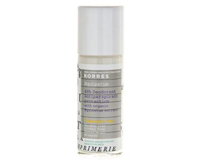 Korres 48-hodinový roll-on antiperspirant bez parfumácie pre citlivú pokožku 30 ml