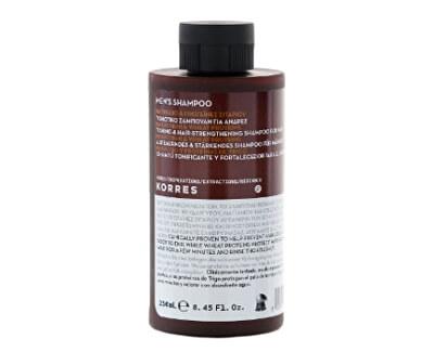 Korres Tonizační a posilující šampon na vlasy pro muže 250 ml