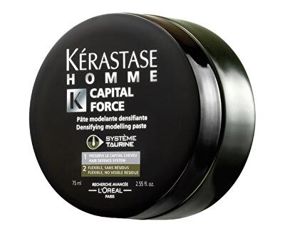Kérastase Posilující stylingová pasta pro muže Homme Capital Force (Densifying Modelling Paste) 75 ml