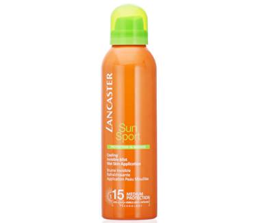 Loțiune pentru bronzare spray cu efect de răcire SPF 15 Sun Sport (Cooling Invisible Mist) 200 ml