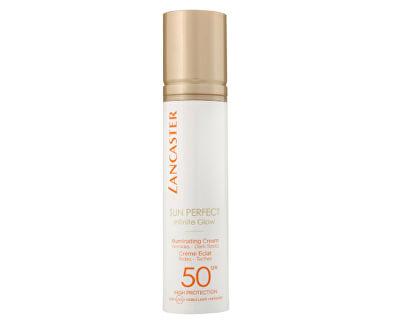 Rozjasňující protivráskový krém na obličej SPF 50 Sun Perfect Infinite Glow (Illuminating Cream) 50 ml