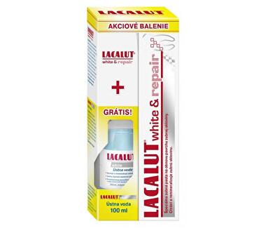 Sada zubné pasty a ústne vody Lacalut