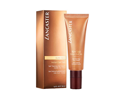 Samoopalovací gel-krém na obličej Sun 365 (Self Tanning Gel Cream) 50 ml