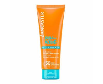 Cremă rezistentă la apă de protecție solară pentru copii SPF 50 Sun Kids (Comfort Cream) 125 ml