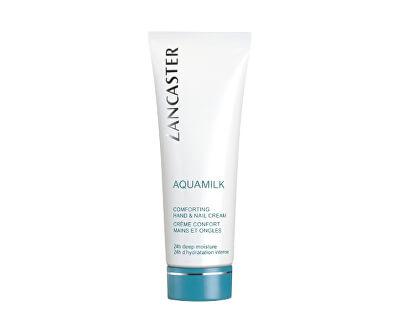 Vyživující krém na ruce a nehty Aquamilk (Comforting Hand & Nail Cream) 75 ml