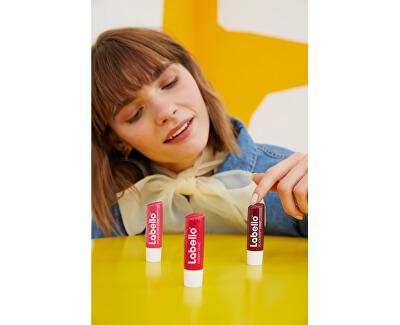 Tónovací balzám na rty Cherry Shine (Caring Lip Balm) 4,8 g