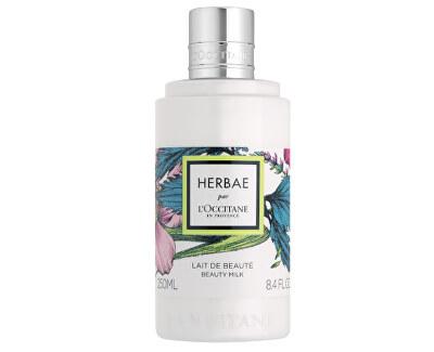 Tělové mléko s vůní divokých trav a květin (Beauty Milk) 250 ml