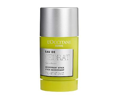 Deodorant solid pentru bărbați Eau de Cedrat (Deodorant Stick) 75 g
