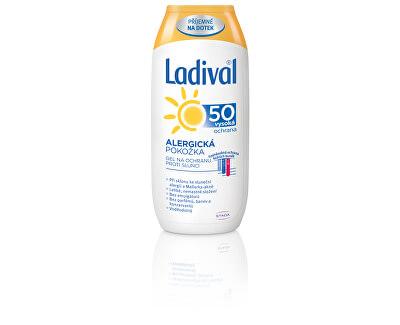 Gel na ochranu proti slunci pro alergickou pokožku OF 50 200 ml
