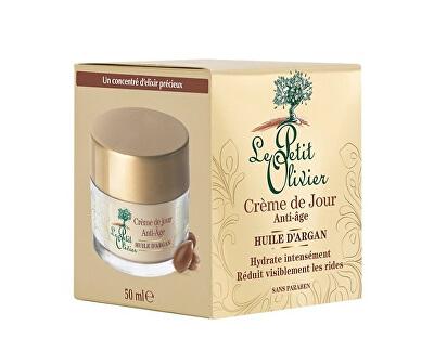 Le Petit Olivier Denní krém proti vráskám s arganovým olejem (Anti-Ageing Day Cream With Argan Oil) 50 ml