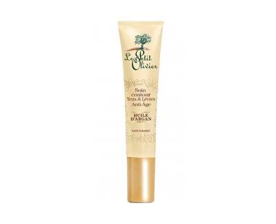 Anti-Age intenzivní péče o oční okolí a rty s arganovým olejem (Anti-Aging Eye & Lip Contour With Organic Argan Oil) 15 ml