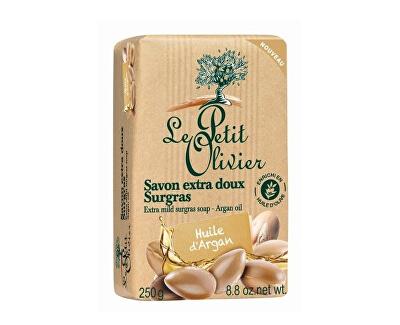 Le Petit Olivier Extra jemné přírodní mýdlo Arganový olej (Extra Mild Surgras Soap) 250 g