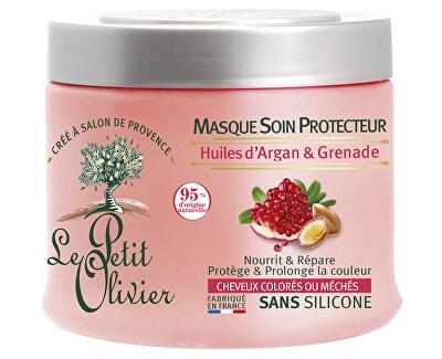 Masca de protecție pentru părul vopsit cu rodie si ulei de argan (Hair Mask) 330 ml