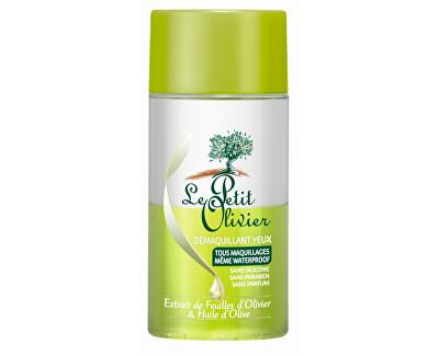 Le Petit Olivier Odličovač očního make-upu s extraktem z olivových listů a olivovým olejem 125 ml