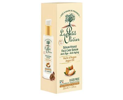 Pleťové sérum proti vráskám s arganovým olejem Anti-Age (Sérum Visage) 30 ml