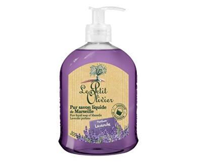 Le Petit Olivier Přírodní tekuté mýdlo s olivovým olejem Levandule (Pure Liquid Soap) 300 ml
