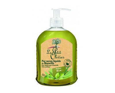 Le Petit Olivier Přírodní tekuté mýdlo s olivovým olejem Oliva (Pure Liquid Soap) 300 ml