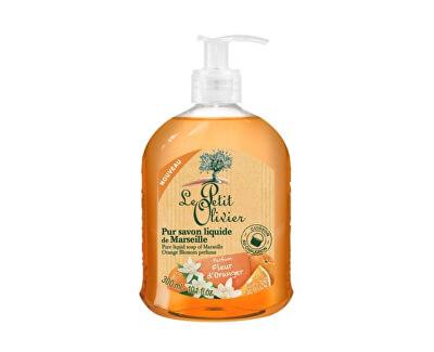 Le Petit Olivier Přírodní tekuté mýdlo s olivovým olejem Pomerančový květ (Pure Liquid Soap) 300 ml