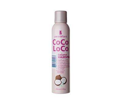 Lak na vlasy s kokosovým olejem CoCo LoCo (Hairspray) 250 ml