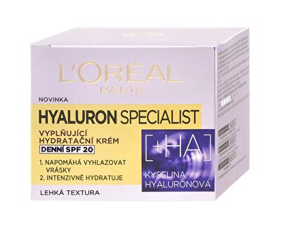 Vyplňující hydratační denní krém Hyaluron Specialist SPF 20 50 ml