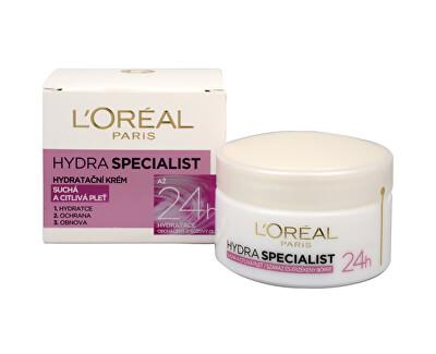 Denní hydratační krém pro suchou a citlivou pleť (Hydra Specialist) 50 ml