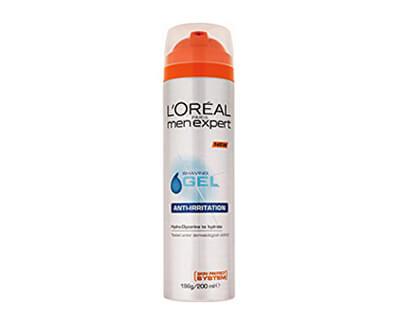 Gel na holení pro citlivou pleť (Shave Gel Anti-Irritation) 200 ml