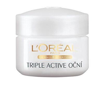 Loreal Paris Hydratační oční krém (Triple Active) 15 ml