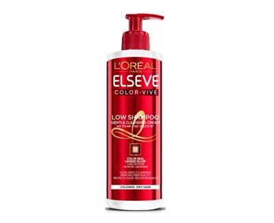 Loreal Paris Pečující mycí krém pro ochranu barvy Elseve Color Vive (Low Shampoo Gentle Cleansing Cream) 400 ml