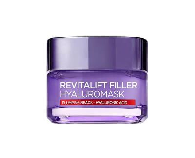 Loreal Paris Pleťová maska proti vráskám s kyselinou hyaluronovou Revitalift Filler (Replumping Mask) 50 ml