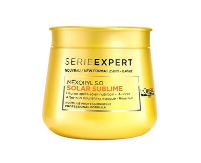 Regenerační maska na poškozené vlasy Série Expert (Solar Sublime Mask) 250 ml
