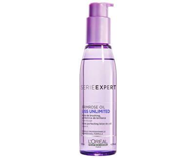Uhlazující olejová péče pro nepoddajné vlasy Serie Expert Liss Unlimited (Shine Perfection Blow Dry Oil) 125ml