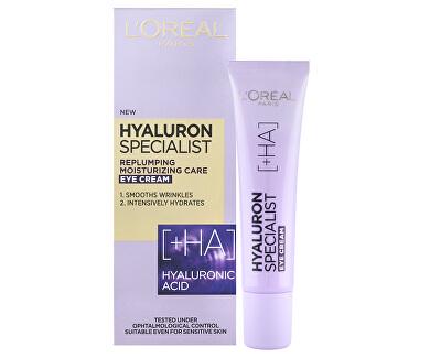 Vyplňující hydratační oční krém Hyaluron Specialist 15 ml