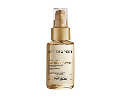 Vyživující sérum s lipidy na poškozené vlasy Serie Expert Lipidum Absolut Repair (Nourishing Serum) 50 ml
