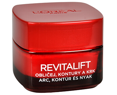 Loreal Paris Zpevňující protivráskový krém na obličej a krk Revitalift 50 ml
