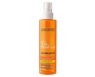 Neviditelný výživný olej SPF 50+ Anthelios XL (Invisible Nutritive Oil) 200 ml