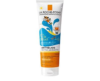 Ochranné dětské gelové mléko SPF 50+ Anthelios (Wet Skin Gel Lotion) 250 ml